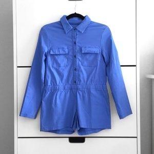 Pants - Button Up Utility Romper